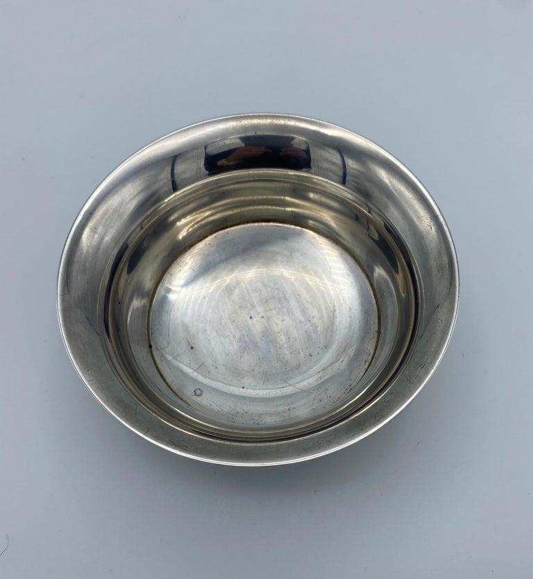Women's or Men's Georg Jensen Sterling Silver Small Dish Bowl, #520