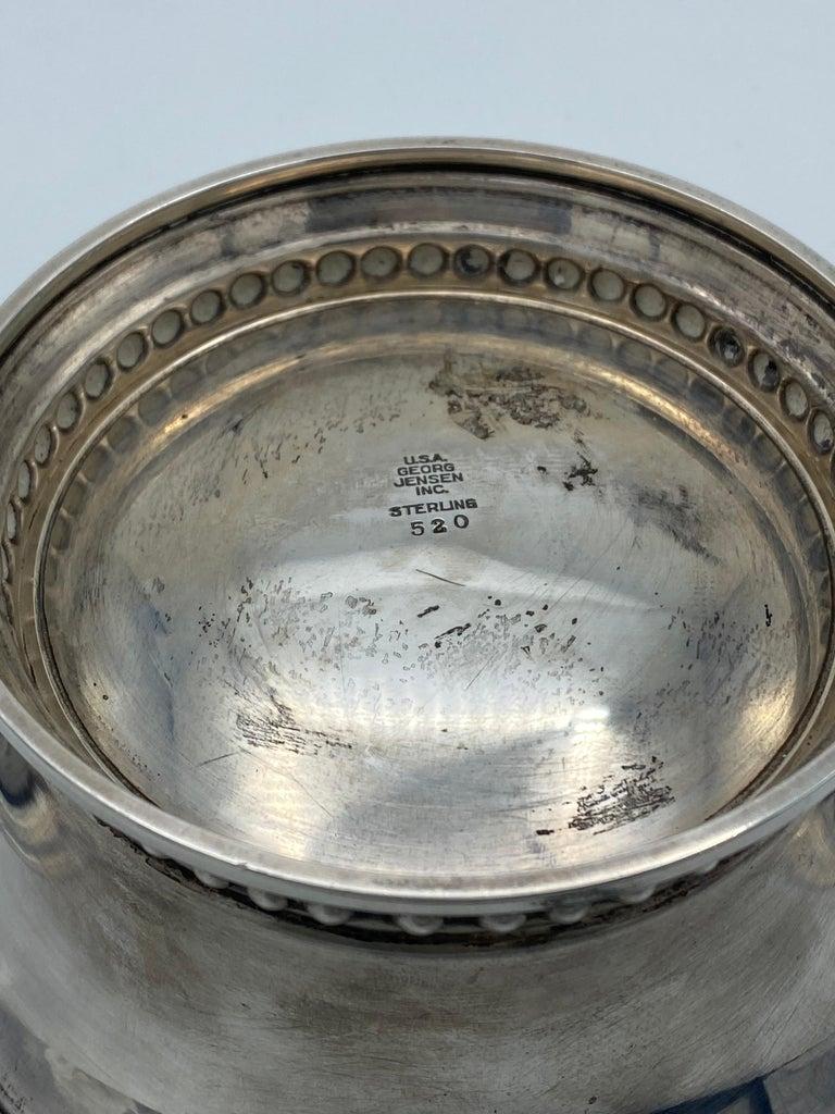 Georg Jensen Sterling Silver Small Dish Bowl, #520 5
