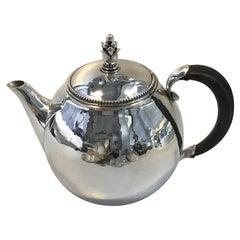 Georg Jensen Sterling Silver Tea Pot No 456