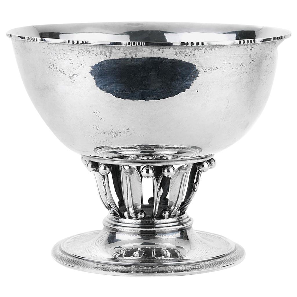 Georg Jensen Sterling Silver the Louvre Bowl 19B