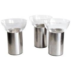 Georg Jensen Three Candleholders Tealight Votive Olympia, Scandinavian Design