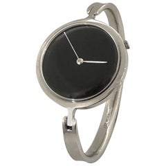 Georg Jensen Vivianna #227 Steel and Quartz Bangle Watch by Torun