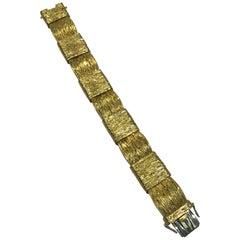 Georg Jensen & Wendel 18 Karat Gold Bracelet