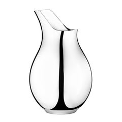 Georg Jensenilse Small Vase in Stainless Steel Mirror Finish by Ilse Crawford