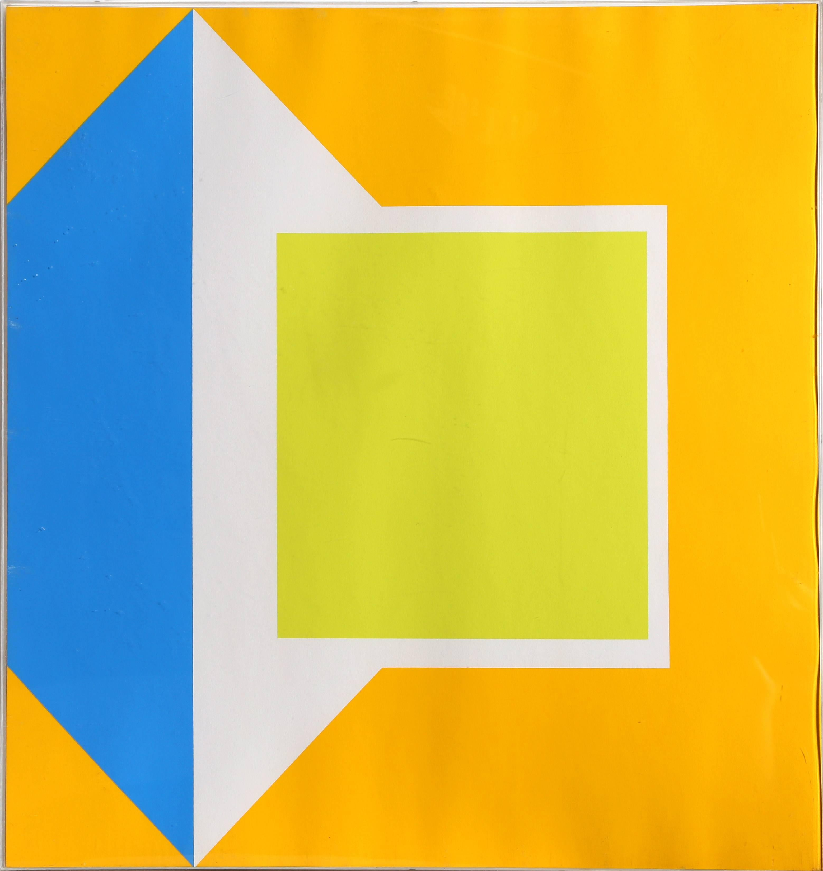 Neun Sergraphien 1, Silkscreen by Georg Karl Pfahler