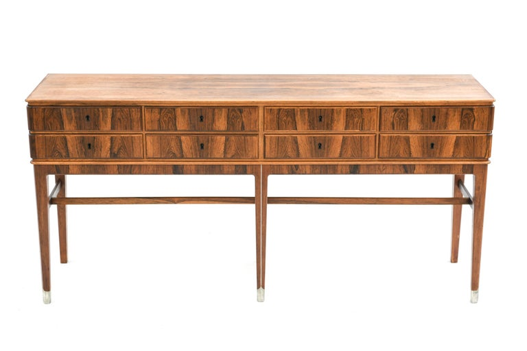 A gorgeous sideboard cabinet by Georg Kofoed in rosewood.