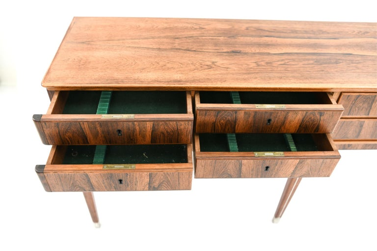 20th Century Georg Kofoed Danish Rosewood Sideboard Cabinet
