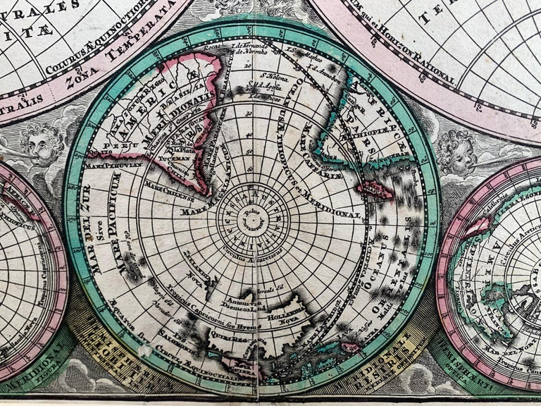 World Map entitled