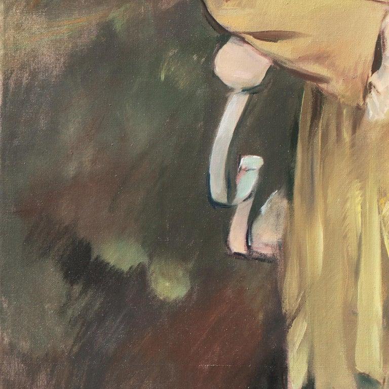 'Portrait of the Fashion Designer, Lieselotte Friedländer', Weimar Republic Oil For Sale 5