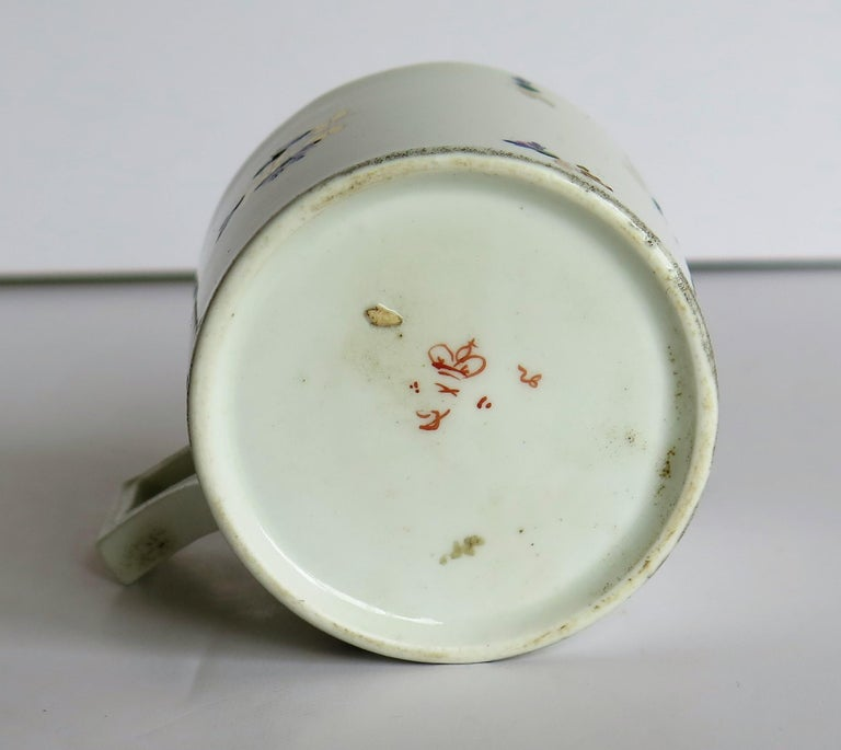 George 3rd Derby Coffee Can Chantilly Sprigs Pattern 129, circa 1805-1810 For Sale 11