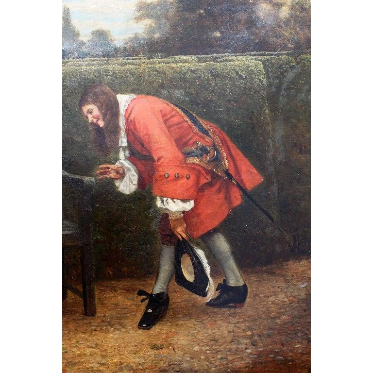 English George Adolphus Storey Oil on Canvas