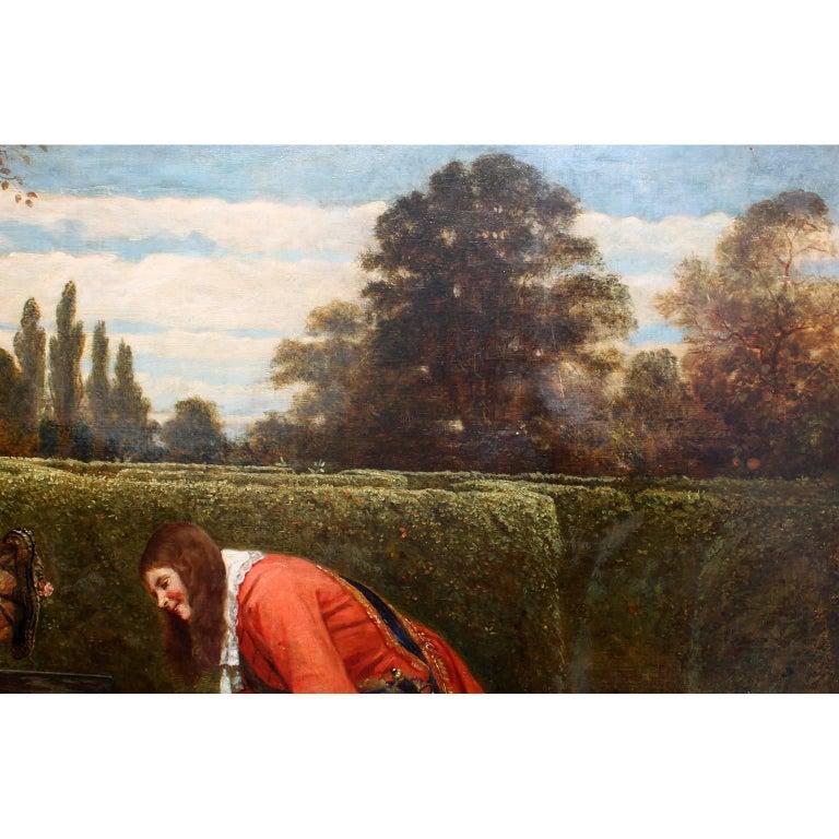 Gesso George Adolphus Storey Oil on Canvas