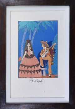 George Barbier, Falbalas & Fanfreluches: Pochoir Fashion Plates