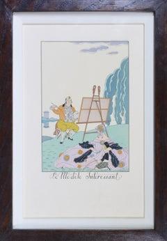 George Barbier, Falbalas & Fanfreluches: Pochoir Fashion Plates