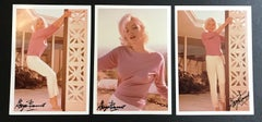Marilyn Monore Pink Triptych