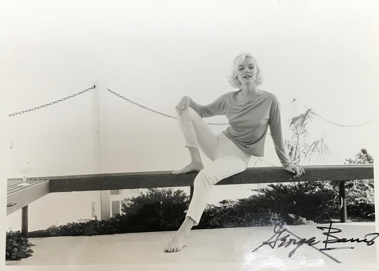 Marilyn Monroe Black and White Triptych - Photograph by George Barris
