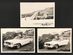 Marilyn Monroe Car Triptych