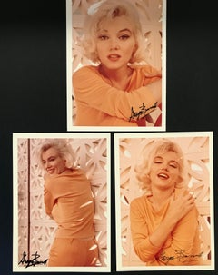 Marilyn Monroe colored triptych
