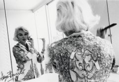 Marilyn Monroe Looking in Mirror Vintage Original Photograph