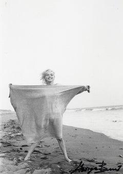 Marilyn Monroe on the Beach Vintage Original Photograph