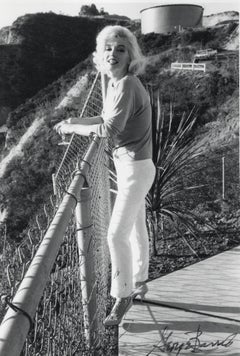Marilyn Monroe Posed with Cocktail Vintage Original Photograph
