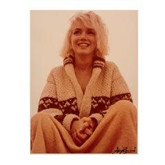 Marilyn Monroe Bundled Up, The Last Shoot, 1962, Chromogenic Portrait
