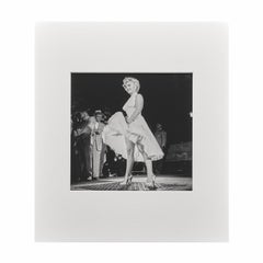 Marilyn Monroe 'The Seven Year Itch' by George Barris - Black and White