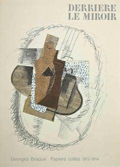 Cover for Derrière Le Miroir - Original Lithograph After George Braque - 1963