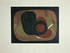 Still life  - Original Lithograph by George Braque - 1930s