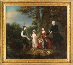 A Portrait of The Adair Family: A Conversation Piece