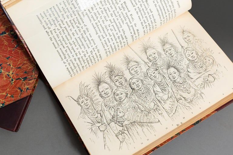 Mid-19th Century George Catlin, Notes of Eighty Years' Travels For Sale