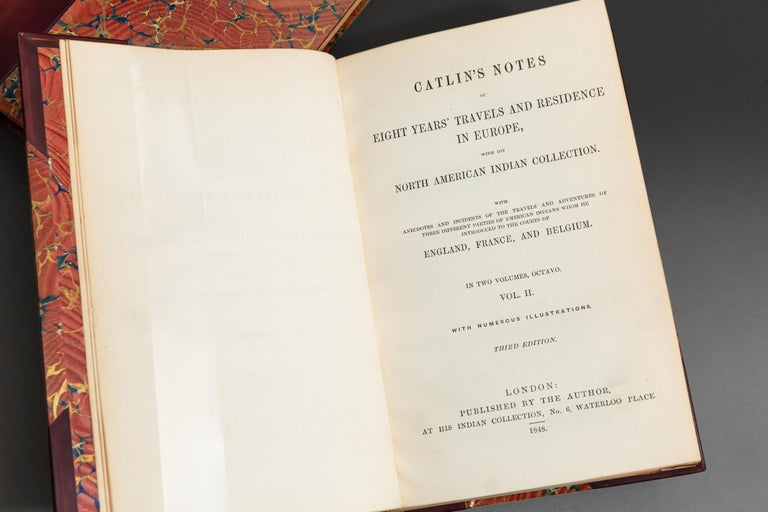 Leather George Catlin, Notes of Eighty Years' Travels For Sale