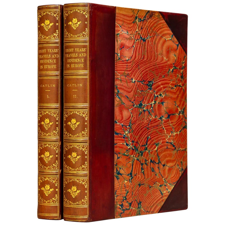 George Catlin, Notes of Eighty Years' Travels For Sale