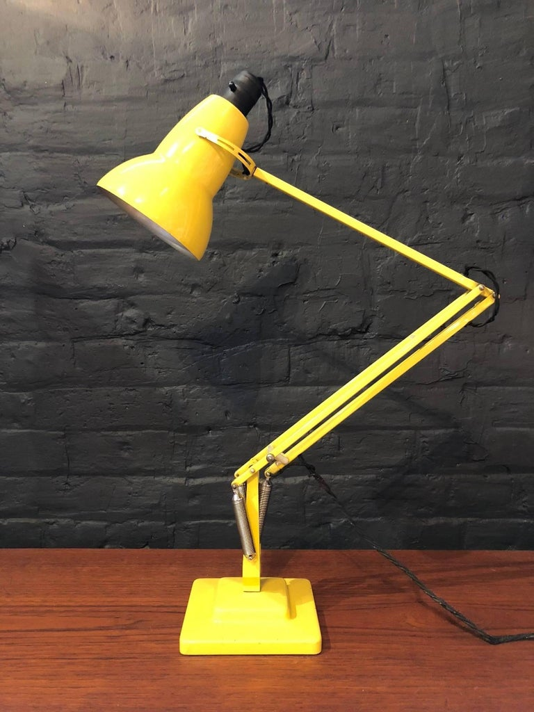 George carwardine for herbert terry anglepoise desk lamp in yellow designed by george carwardine for herbert terry sons and made in redditch england aloadofball Image collections