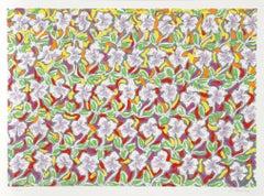 Pattern Field, Flower Silkscreen by Chemeche