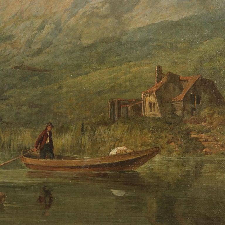 Landscape by George Clarkson Stanfield Fluvial Landscape 1869 3