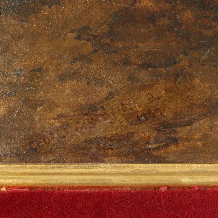Landscape by George Clarkson Stanfield Fluvial Landscape 1869 7