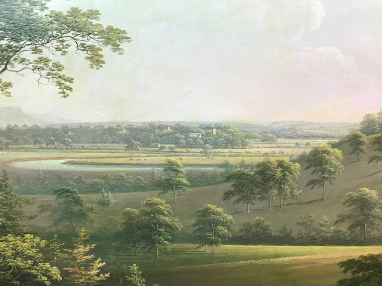 A distant landscape view of Langton Hall in Richmondshire, North Yorkshire For Sale 3