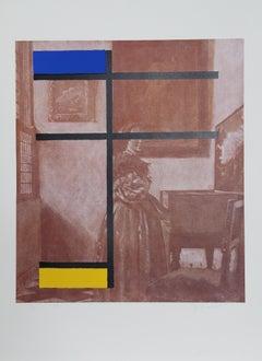 Mondrian with Vermeer
