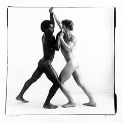 Thompson and Brown, Male Nudes Photographed in Studio, Gelatin Silver Print