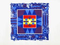 Journals, Abstract Silkscreen by George Ortman