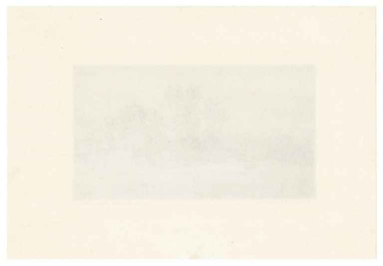 North Boulder Creek, Colorado —Southwest Impressionism - American Impressionist Print by George Elbert Burr