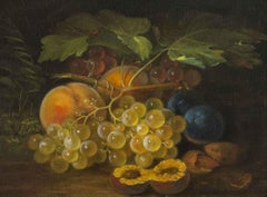 Still Life with Fruit by George Forster (1817-1896, German-American)