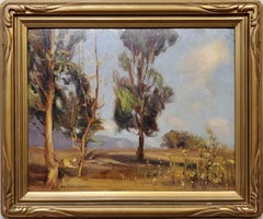 California Landscape Impressionist Painting by Gardner Symons