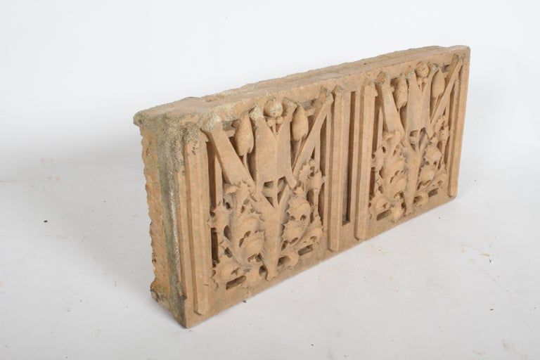 American George Grant Elmslie Architectural Terra Cotta Element - Prairie School - Wright For Sale