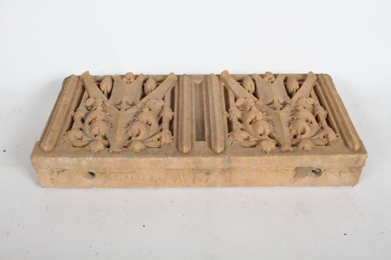 Clay George Grant Elmslie Architectural Terra Cotta Element - Prairie School - Wright For Sale