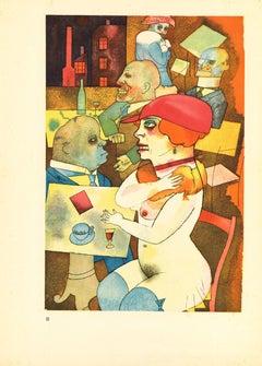 Beauty, I shall Praise - by George Grosz - 1923
