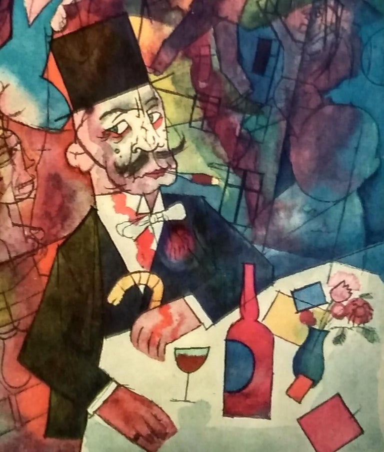 Lithograph by George Grosz
