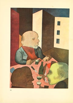People are Basically Good - by George Grosz - 1923