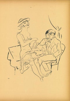 Separe - Original Lithograph and Offset by George Grosz - 1923
